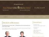 Vorschau: Rechtsanwalt H.-Heiner Göhler