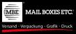 Logo: Mail Boxes Etc. offizieller UPS Kooperationspartner