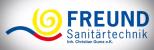 Logo: Freund Sanitärtechnik Christian Gumz e.K. Beratung - Planung - Ausführung