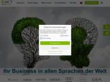 Vorschau: A.C.T. Fachübersetzungen GmbH
