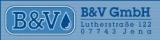 Logo: B & V GmbH