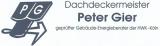 Logo: Dachdeckermeister Peter Gier