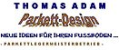 Logo: parkett-design Thomas Adam