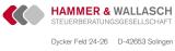 Logo: Hammer & Wallasch Steuerberatungsgesellschaft mbH + Co. KG