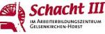 Logo: Tagungs- und Gästehaus Schacht3 im Arbeiterbildungszentrum e.V. Gelsenkirchen-Horst