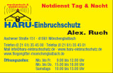Vorschau: HARU - Einbruchschutz Schlüsseldienst Alex Ruch