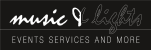 Logo: music & lights events services and more in Hamburg
