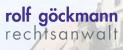 Logo: Rolf Göckmann Rechtsanwalt