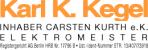 Logo: Karl K. Kegel, Inh. Carsten Kurth e.K.