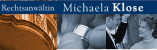 Logo: Rechtsanwältin & Mediatorin Michaela Klose
