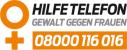 Logo: Hilfetelefon Gewalt gegen Frauen