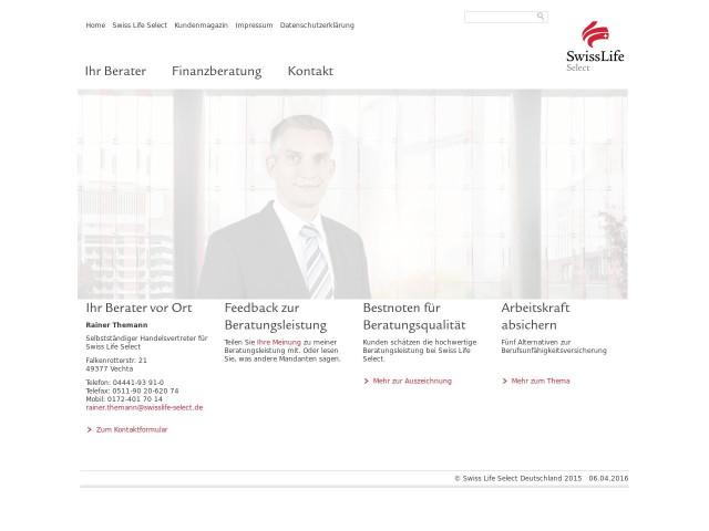 Website screen shot