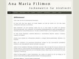 Vorschau: Rechtsanwältin Filimon Fachanwältin für Strafrecht