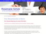Vorschau: Steuerberaterin Rosemarie Scholz