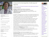 Vorschau: Rolf Küpper Arzt f. Homöopathie Hypnose Ernährungsberatung