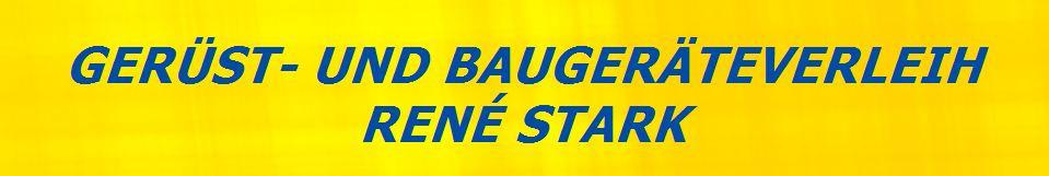 Logo von Gerüst- und Baumaschinen Inh. René Stark