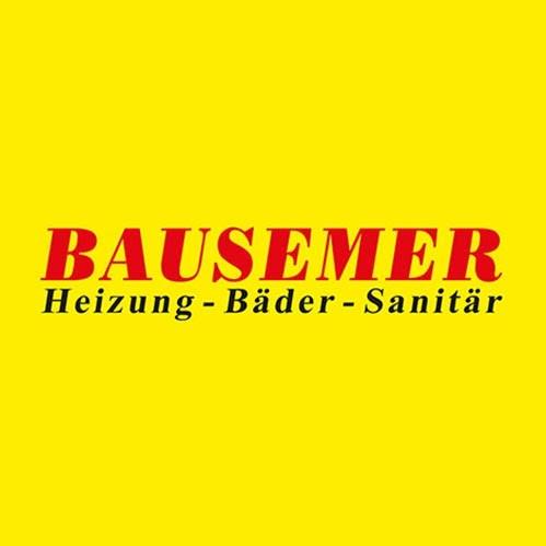 Logo von Bausemer GmbH - Heizung - Bäder - Sanitär