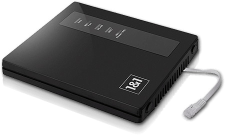 1&1 DSL-Modem  Kabelgebunden surfen und telefonieren