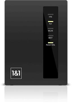 1&1 WLAN-Router  Kabellos surfen und telefonieren