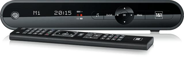 Die 1&1 MediaCenter Tarif-Option ist das Herzstück von Digital TV.