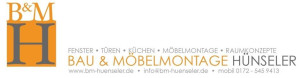 Logo Bau und Möbelmontage Hünseler