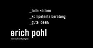 Logo Küchenstudio Erich Pohl GmbH