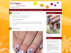 Logo Fingernagelstudio Fry Fingers