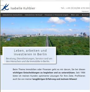 Logo Kuhbier, Isabelle