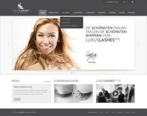 Logo Luxuslashes Lounge Hamburg