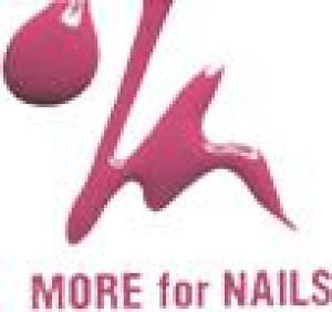 Logo Nagelstudio More For Nails Nageldesignerin