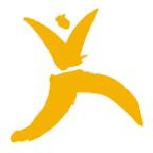 Logo moves woman by Jörn Stille