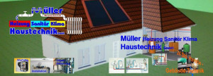 Logo Müller Heizung Sanitär Klima Haustechnik GmbH