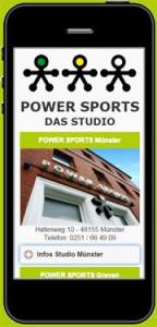 Logo Power Fitness-Center GmbH