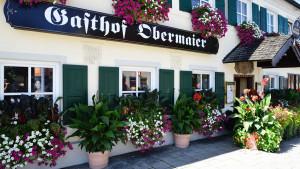 Gasthof mit Biergarten